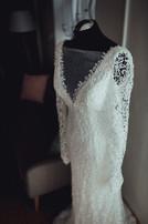 Brautkleid mit langarm