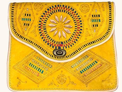 Moroccan Purse - Yellow