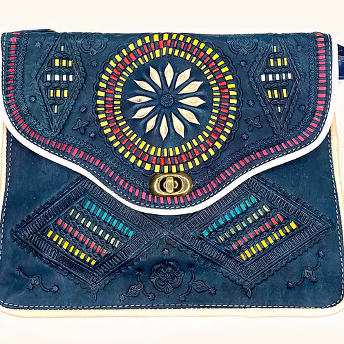 Moroccan Purse - Blue