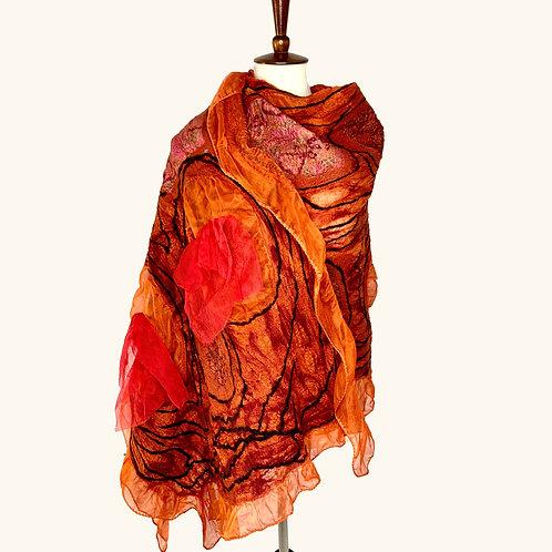 Gypsy Wrap - Orange