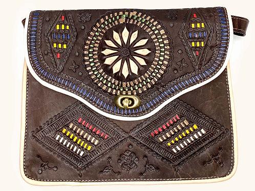 Moroccan Purse - Brown