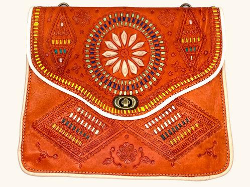 Moroccan Purse - Orange