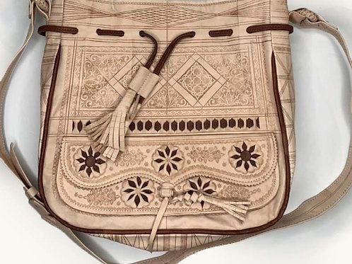 Large Moroccan Bag - Neutral