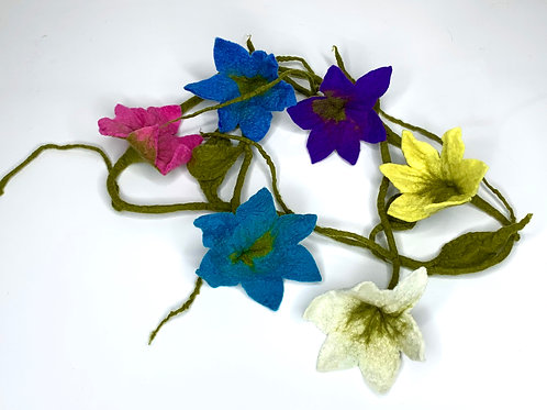 Flower Garland Multicolored