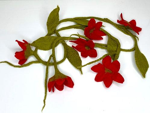 Flower Garland Red