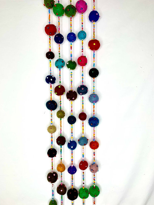 Beaded Ball Garland