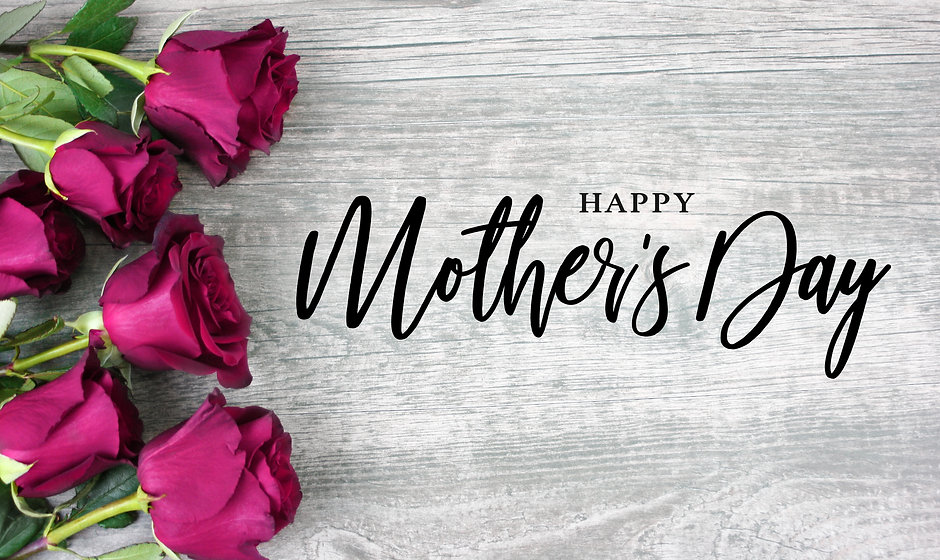 Happy Mother's Day Calligraphy with Pink