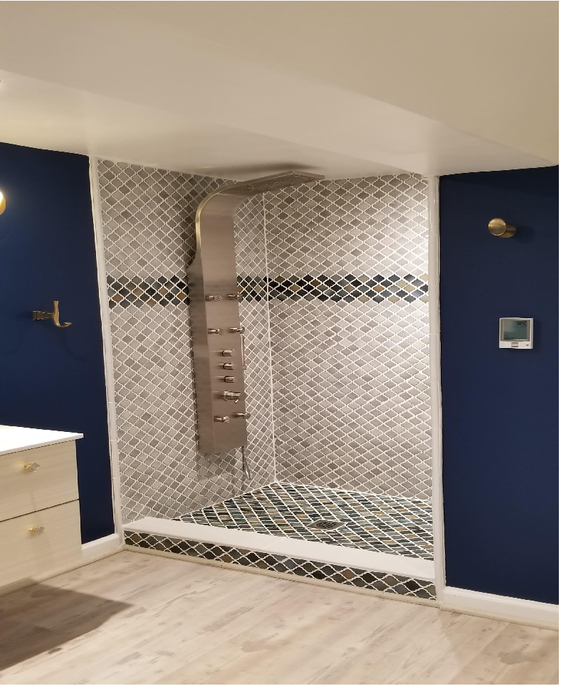 Upscale Shower, Bath Remodel, Bathroom Remodel