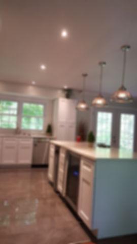 Kitchen Island,Pendant Lighting
