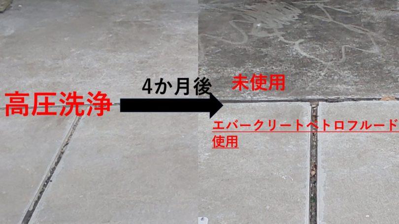 千葉県某メガソーラー 設備基礎 黒カビ、コケ予防