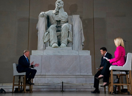 """""""They always said Lincoln -- nobody got treated worse than Lincoln. I believe I am treated worse."""""""