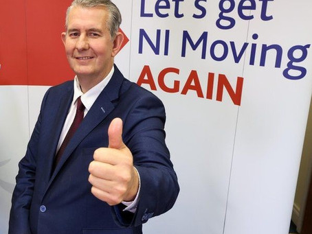 'Let's get N I moving again.'  Back to the Dark Ages, presumably...