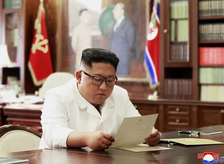 'Of excellent content': Kim Jong-un and Donald Trump still write to each other...