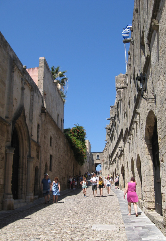 Street of the Knights, Rhodes