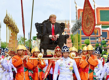 Please rain on his parade....