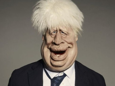 If this is Boris, I can't wait to see The Trumpster...