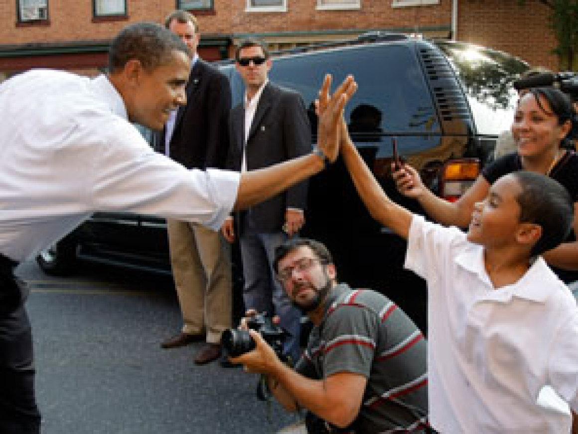 Obama High Five