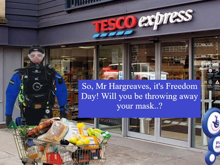 It's Freeeedom Day!  Er, or not....