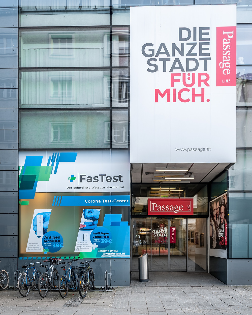 FasTest Corona Tests Linz