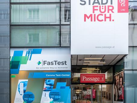 Jetzt in Linz: Österreichs schnellster PCR Test