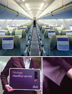 DUO AIRWAYS CABIN INTERIOR UNIFORMS