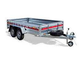 TEMARED Pro 2612/2 twin axle trailer for sale