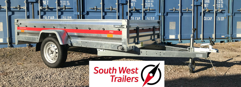 TEMARED PRO NEW 8X4 TRAILER FOR SALE IN