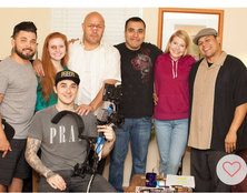 """Cast and crew of """"Not My Blood""""."""
