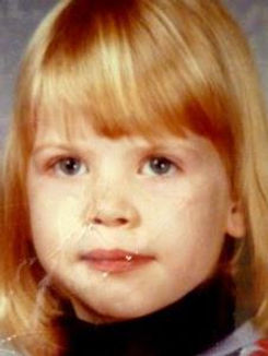Corinne Meadors as a child