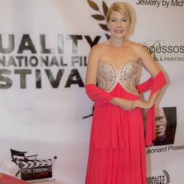 Corinne Meadors at the Equality International Film Festival.