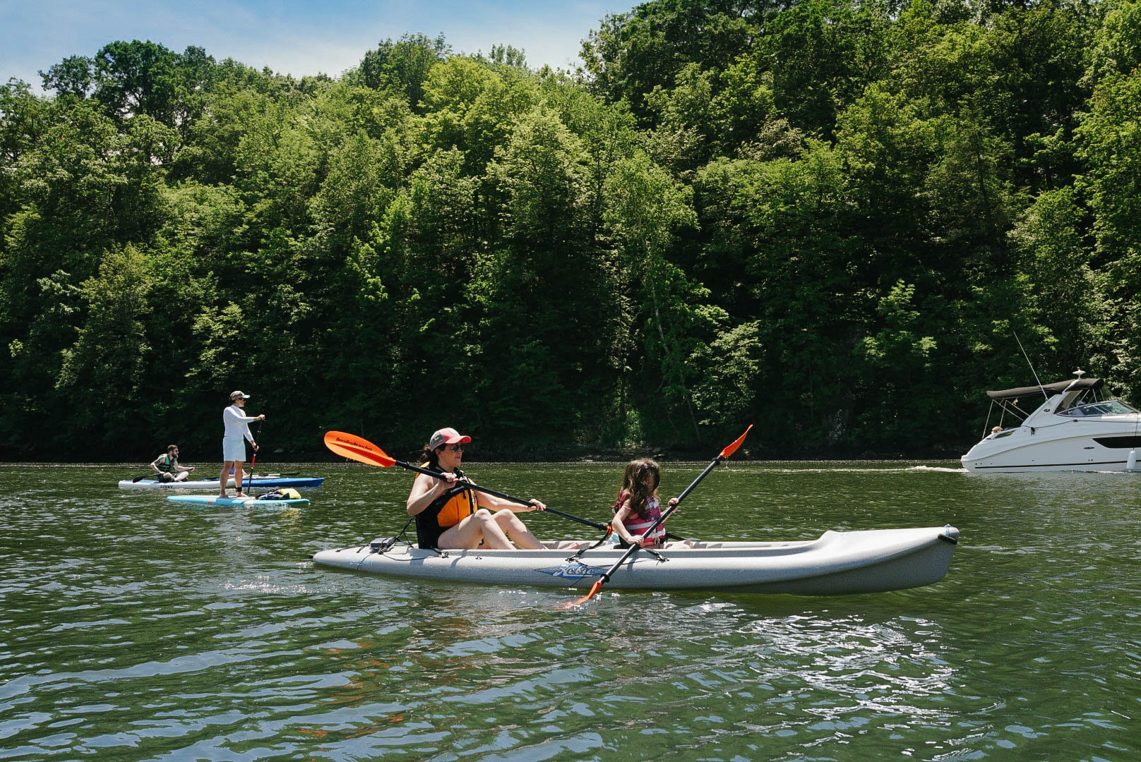 Tandem Kayak Additional Hour