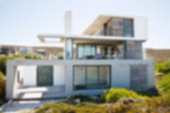 White Modern House Property Management