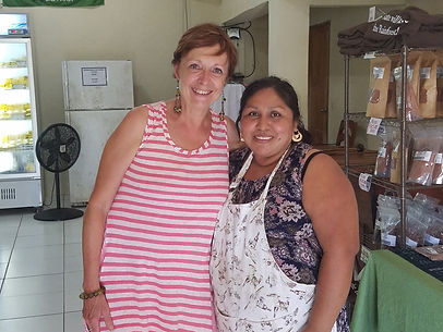 Kris and Abelina Cho in Belize