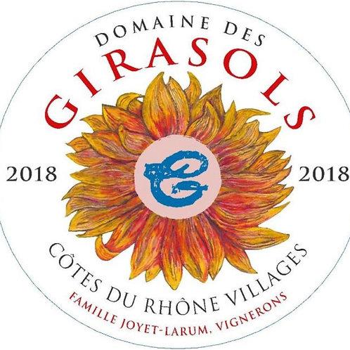Domaine des Girasols Cotes du Rhone Villages Rose