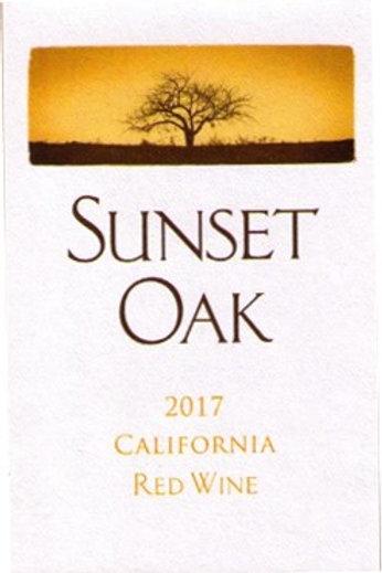 Sunset Oak California Red Wine
