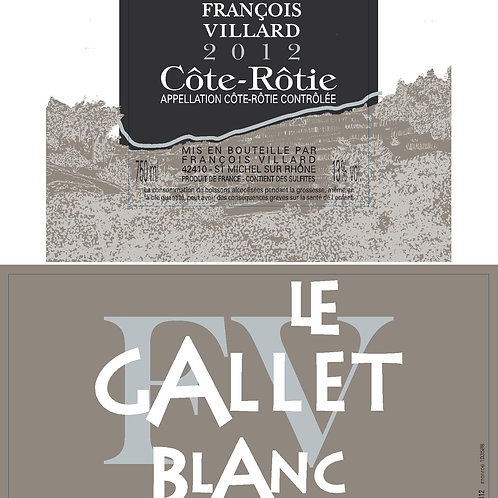 Domaine Francois Villard Cote Rotie Le Galley Blanc