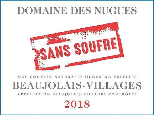 Domaine des Nugues Beaujolais Villages Sans Soufre