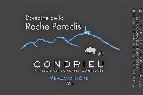 Domaine de la Roche Paradis Condrieu Veauvigniere