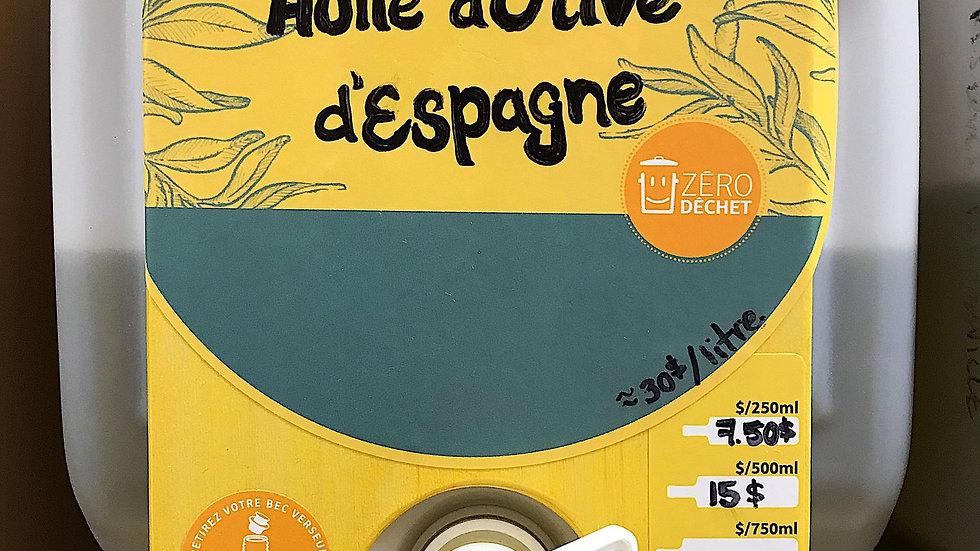 Huile d'olive d'Espagne