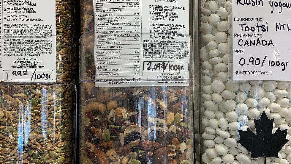 Mélange de noix léger