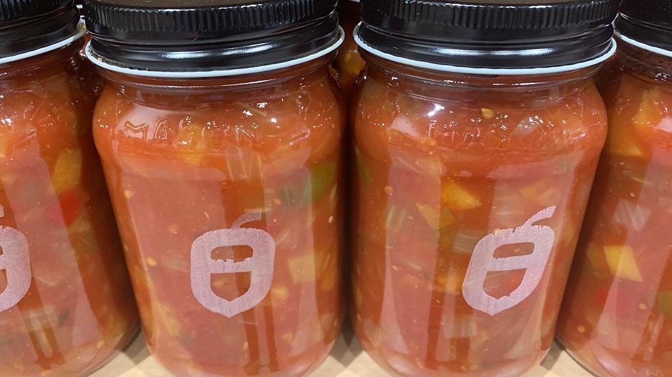Salsa tomate & pêche