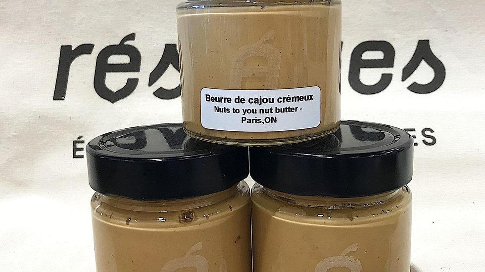 Beurre de cajou crémeux