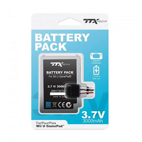 Bateria Recargable Interna 3000 MaH para Wii U Gamepad TTX Tech