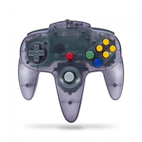 Control para Nintendo 64 N64 Morado transparente Tecknogame