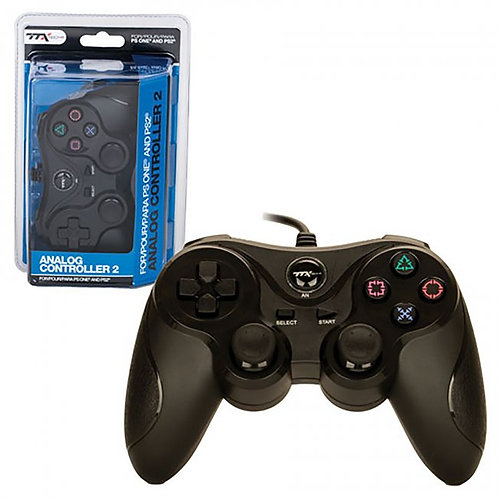 Control para PS2 y PS1 Negro TTX Tech