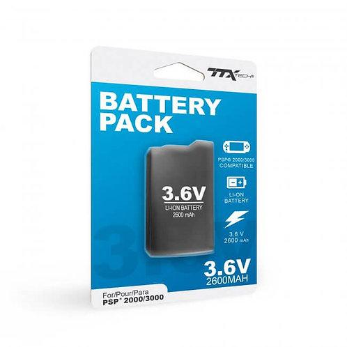 Bateria Recargable para PSP 2000 / 3000 de 2600 mAh KMD