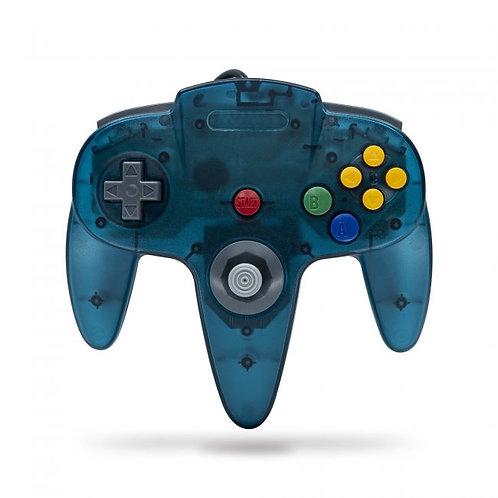 Control para Nintendo 64 N64 Verde azulado Tecknogame