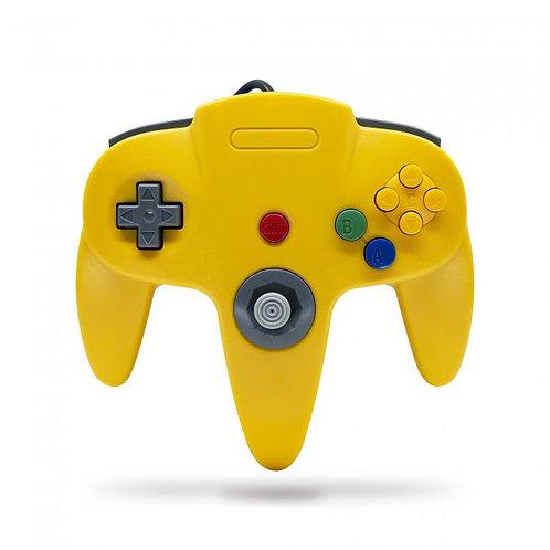 Control para Nintendo 64 N64 TeknoGame Amarillo / Azul