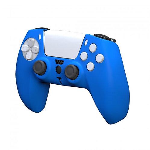 Funda de silicon para control PS5 KMD Azul