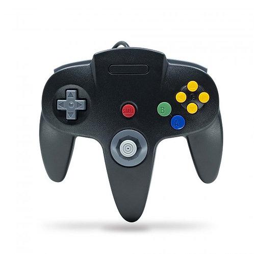 Control para Nintendo 64 N64 Nuevo Negro TeknoGame